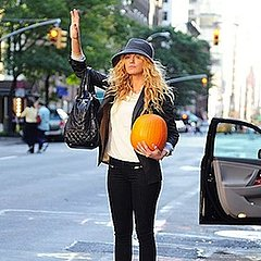 Blake Lively Hails Cab and More NYC News Oct. 20, 2011