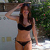 Sofia Vergara Black Bikini Pictures in Mexico