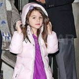 Suri Cruise was ready to face the rain in NYC.