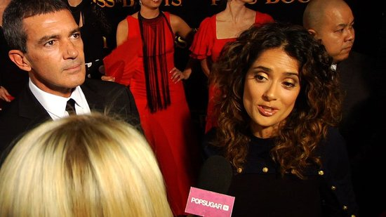 Video: Salma Hayek Talks Valentina and Wardrobe Malfunctions