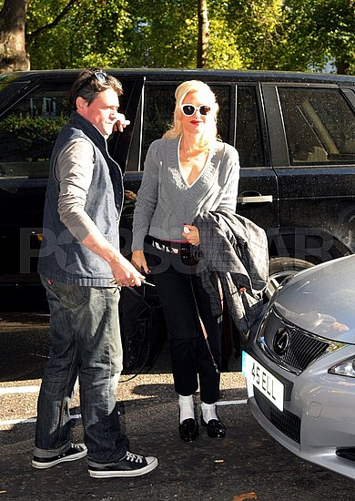 Gwen Stefani headed out to run errands in London.
