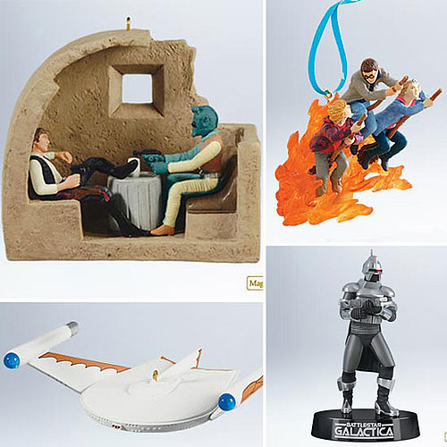 Star Wars and Star Trek Ornaments