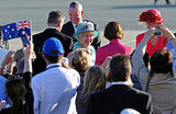 Queen Elizabeth kicks off her royal tour Down Under!