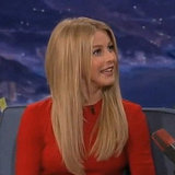 Julianne Hough on Conan