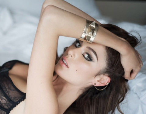 Nicole Trunfio Gets a Sexy '60s Makeover in the Sunday Times