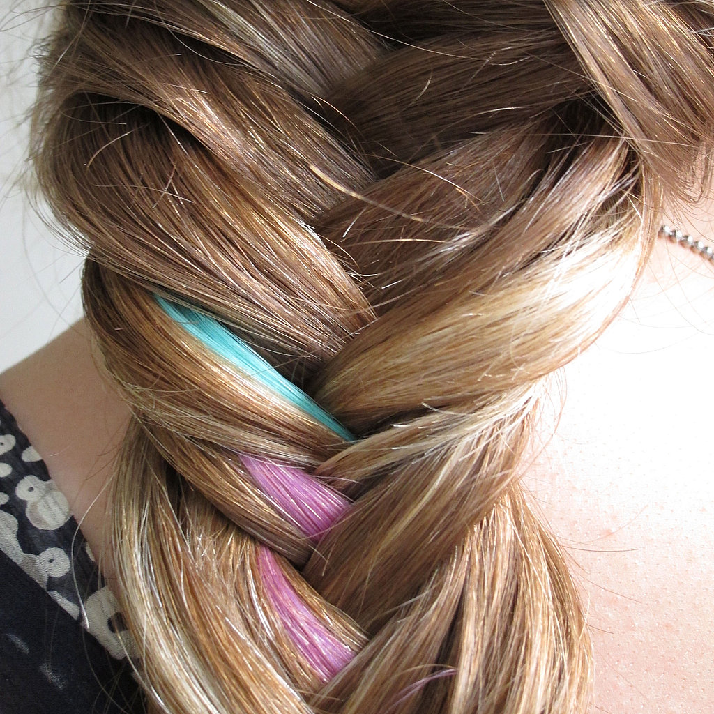 How to Do a Colorful Fishtail Braid: Hair Tutorial With Pictures