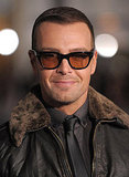 Joey Lawrence kept his shades on at the In Time premiere.