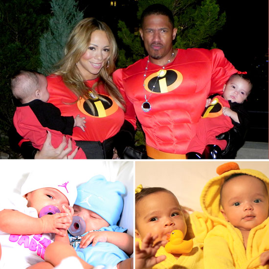Meet Mariah Carey's Twins Moroccan and Monroe — See Their Sweet Faces!