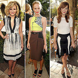 Pictures of Kate Bosworth, Michelle Monohan and Diana Agron at the CFDA Fashion Fund Finalists Party: Who Looks Most Chic?