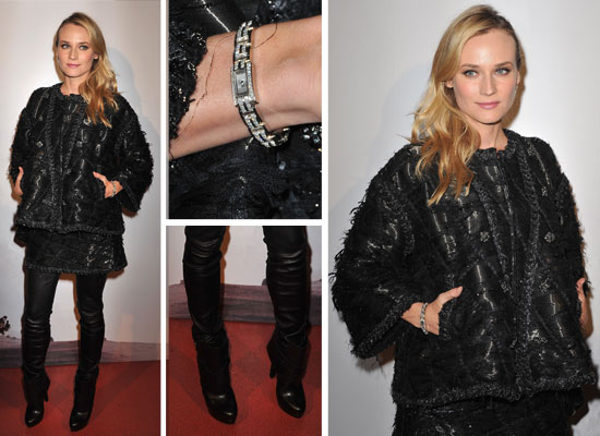 Scope Diane Kruger's Chic Chanel Ensemble, Up Close!