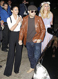 Emmanuelle Chriqui and Jerry Ferrara at Kate Hudson's Halloween party.