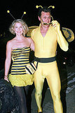 Ali Larter and Hayes MacArthur as bumble bees.