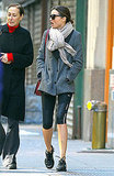 Miranda Kerr after a workout in NYC.