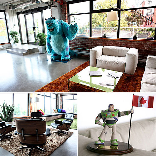 Pixar Canada Office Pictures