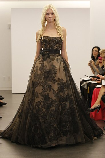 Vera Wang Bridal Fall 2012