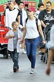 Reese Witherspoon and Deacon Phillippe celebrated his eighth birthday at Disneyland in California.