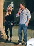 Pregnant Jessica Simpson in Palm Springs with Eric Johnson.