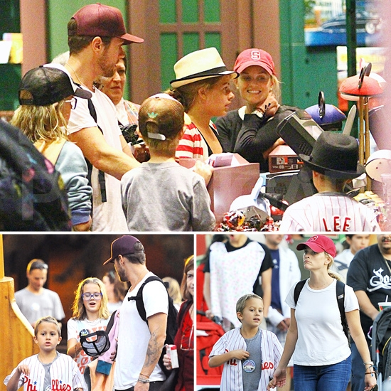 Reese and Ryan Reunite to Celebrate Deacon's Birthday at Disneyland