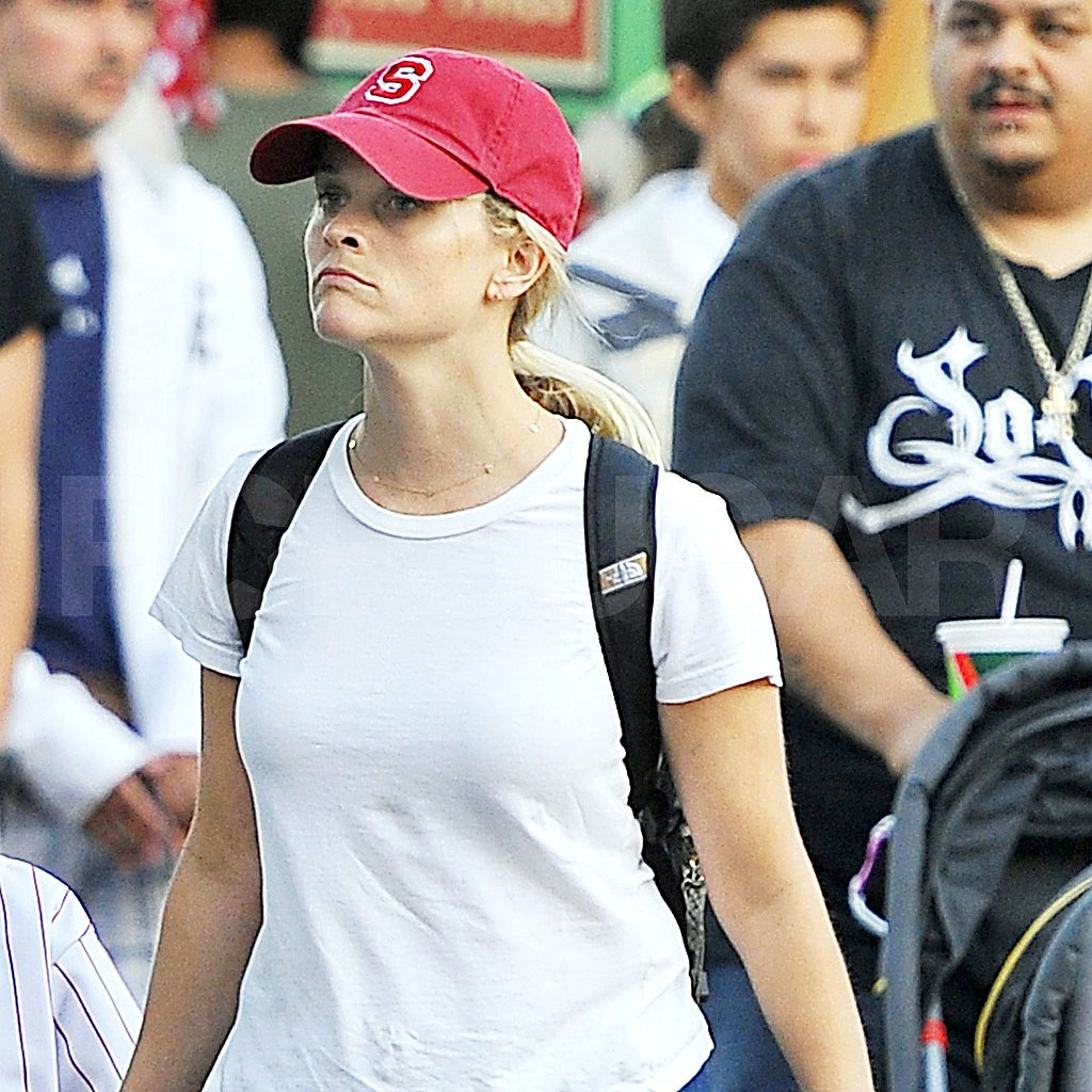 Reese Witherspoon went to Disneyland to celebrate her son's birthday.