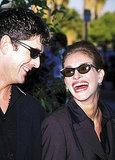 Julia Roberts and actor Rupert Everett were a match at the Blockbuster Awards in 1998.
