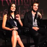 Robert Pattinson Talks Breaking Dawn Birth Scene at Paris Premiere (Video)