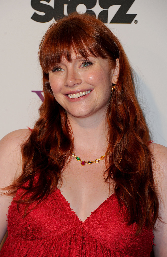 Bryce Dallas Howard looked radiant at the Hollywood Film Awards Gala.