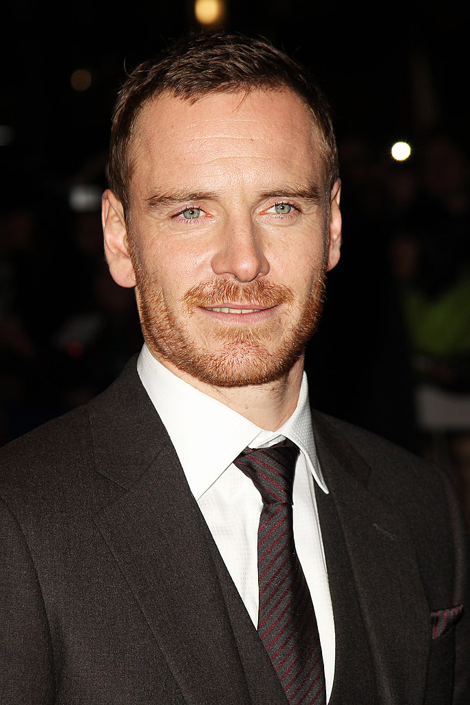 Michael Fassbender at the London Film Festival.