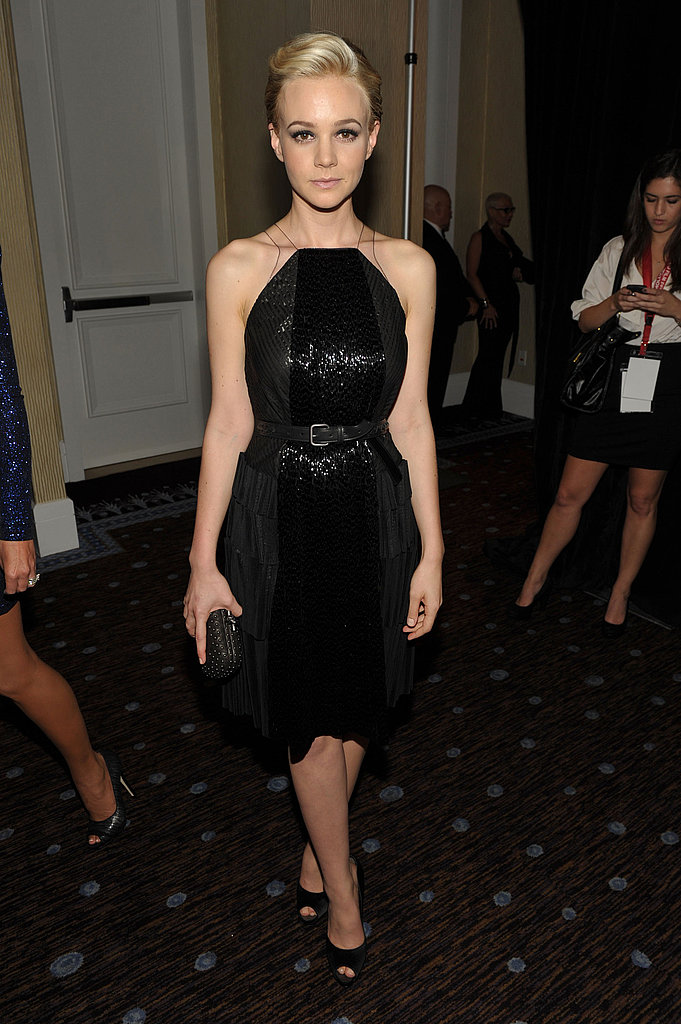 Carey Mulligany wore Bottega Veneta to the 2011 Hollywood Film Awards.