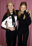 Julia Roberts shared a giggle with pal Gwyneth Paltrow at a charity event in 2001.