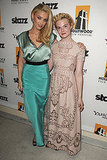 Amber Heard and Elle Fanning at the 15th annual Hollywood Film Awards.