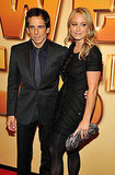 Ben Stiller posed with his lovely wife, Christine Taylor.