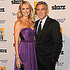 Clooney &amp; Keibler Pictures at 2011 Hollywood Film Awards
