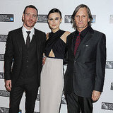 Keira Knightley, Fassbender Pictures at Dangerous Method Premiere