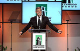 George Clooney gave a speech at the 2011 Hollywood FIlm Awards.
