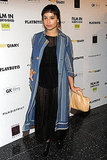 Zoe Kravitz stepped out for the screening.