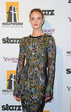 Rosie Huntington-Whiteley in a body-con dress.