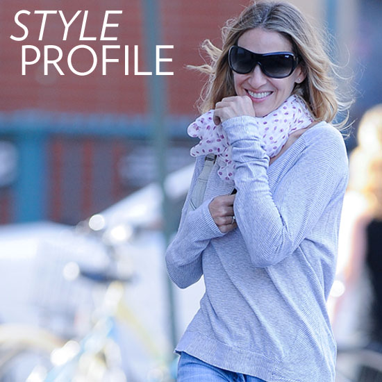We're Loving SJP's Effortlessly Cool Fall Style