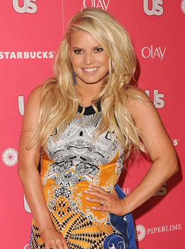 Jessica Simpson With a Noticeable Baby Bump Amid Pregnancy Rumours