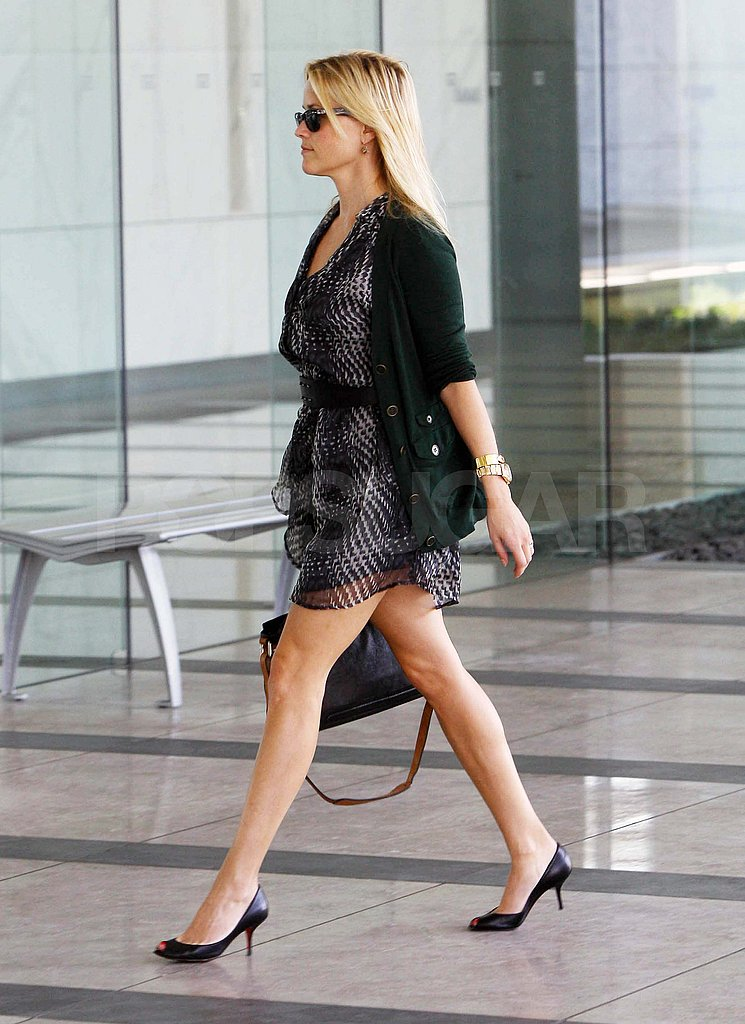 Reese Witherspoon going to a meeting in LA.