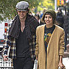 Penn Badgley and Zoe Kravitz Holding Hands in NYC Pictures