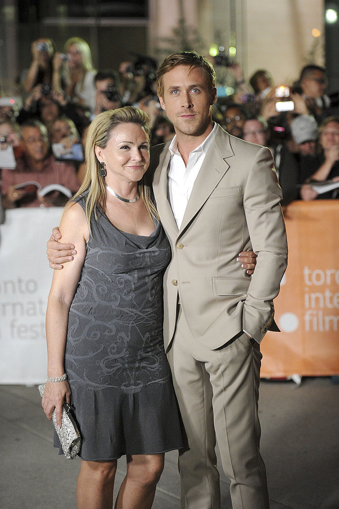 Ryan and his mom looked so cute in Toronto in 2011.