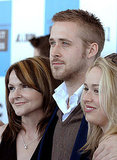 Ryan Gosling's mom and sister supported him at the 2007 Film Independent Spirit Awards.