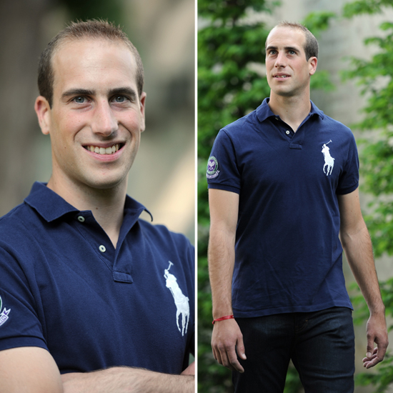 Is that Prince William back in his younger days? Nope, it's a Will look-alike!