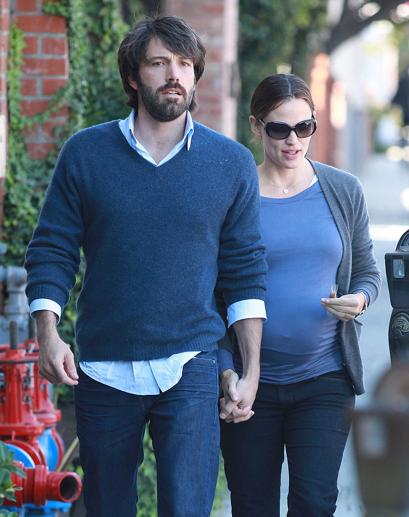 Ben Affleck and Jennifer Garner together in LA.