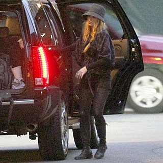 Blake Lively Pictures at Ryan Reynolds's Boston Home