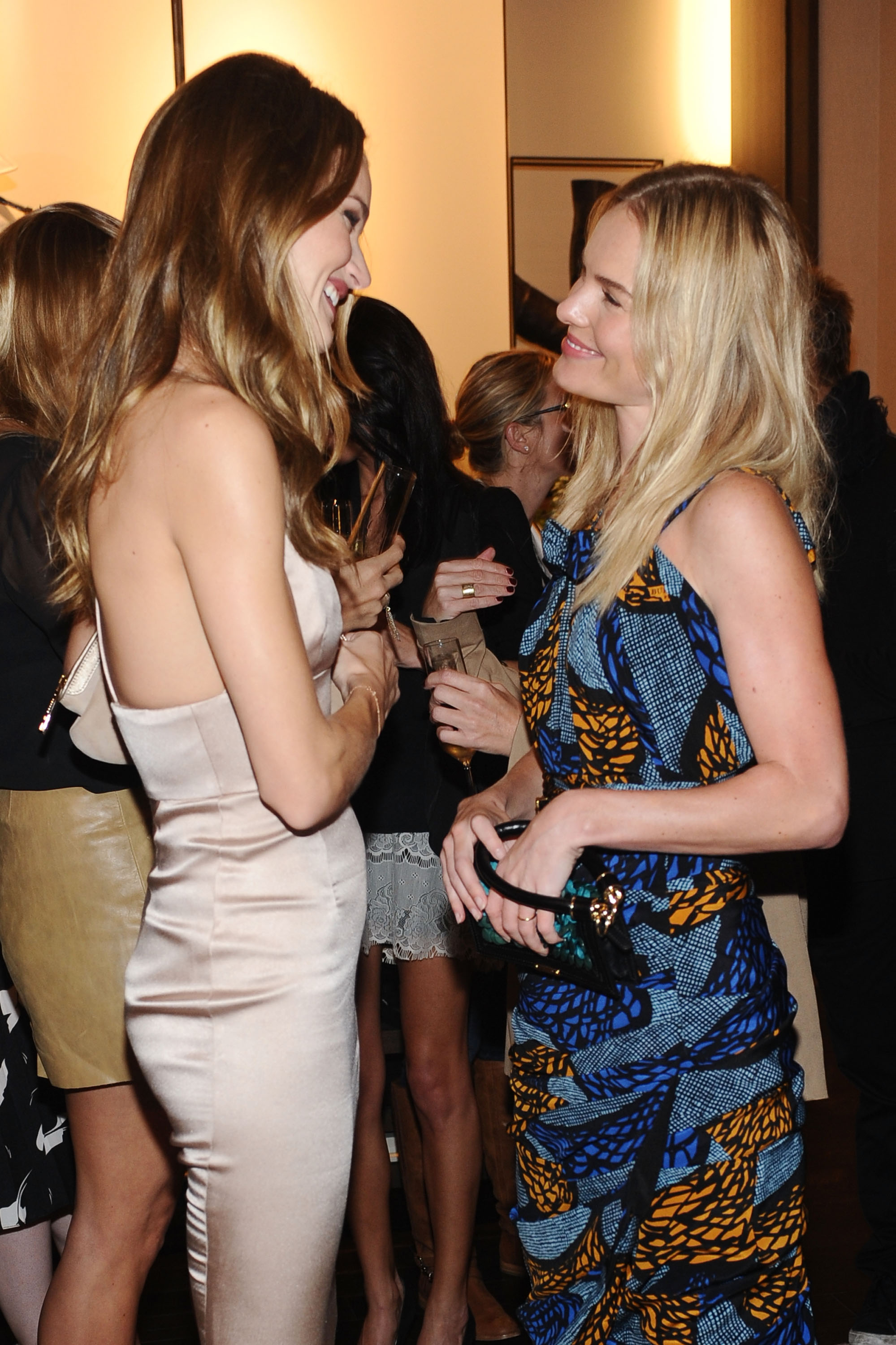 Rosie Huntington-Whiteley and Kate Bosworth caught up.