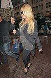 Jessica Simpson and her baby bump in NYC.
