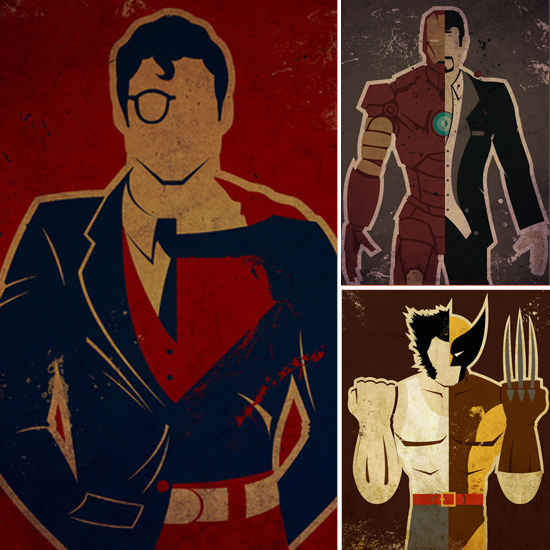 Alter Egos: Superhero Posters From Danny Haas