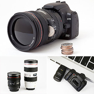 Canon and Nokia Lens Mugs