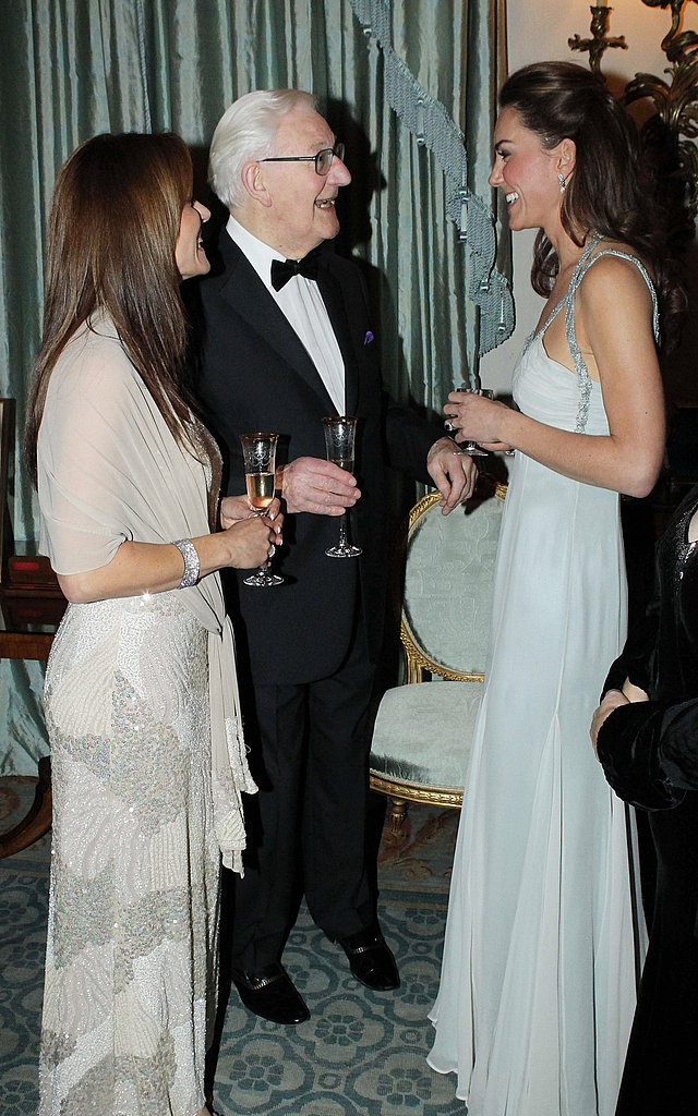 Kate mingles with guests at the In Kind Direct ball.